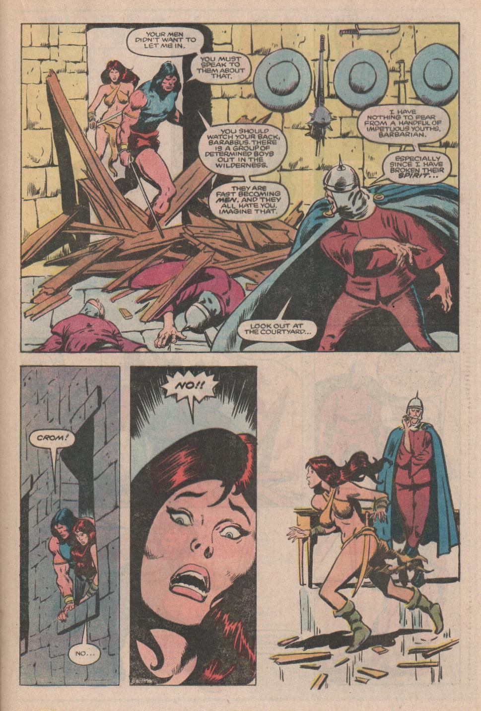 Conan the Barbarian (1970) Issue #174 #186 - English 16