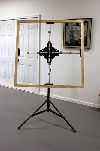 how to build an a frame easel