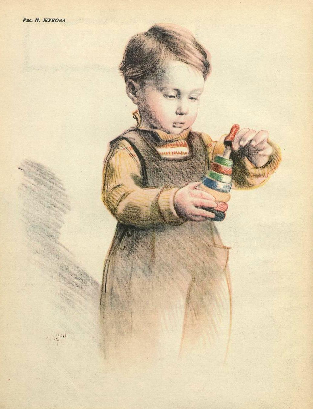дети рисунки жукова