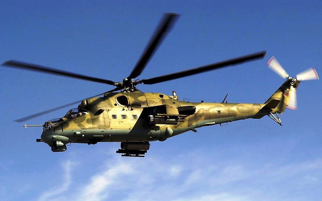 Mil Mi-24 Hind attack helicopter wallpaper 4