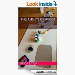 Alphabet art reference book