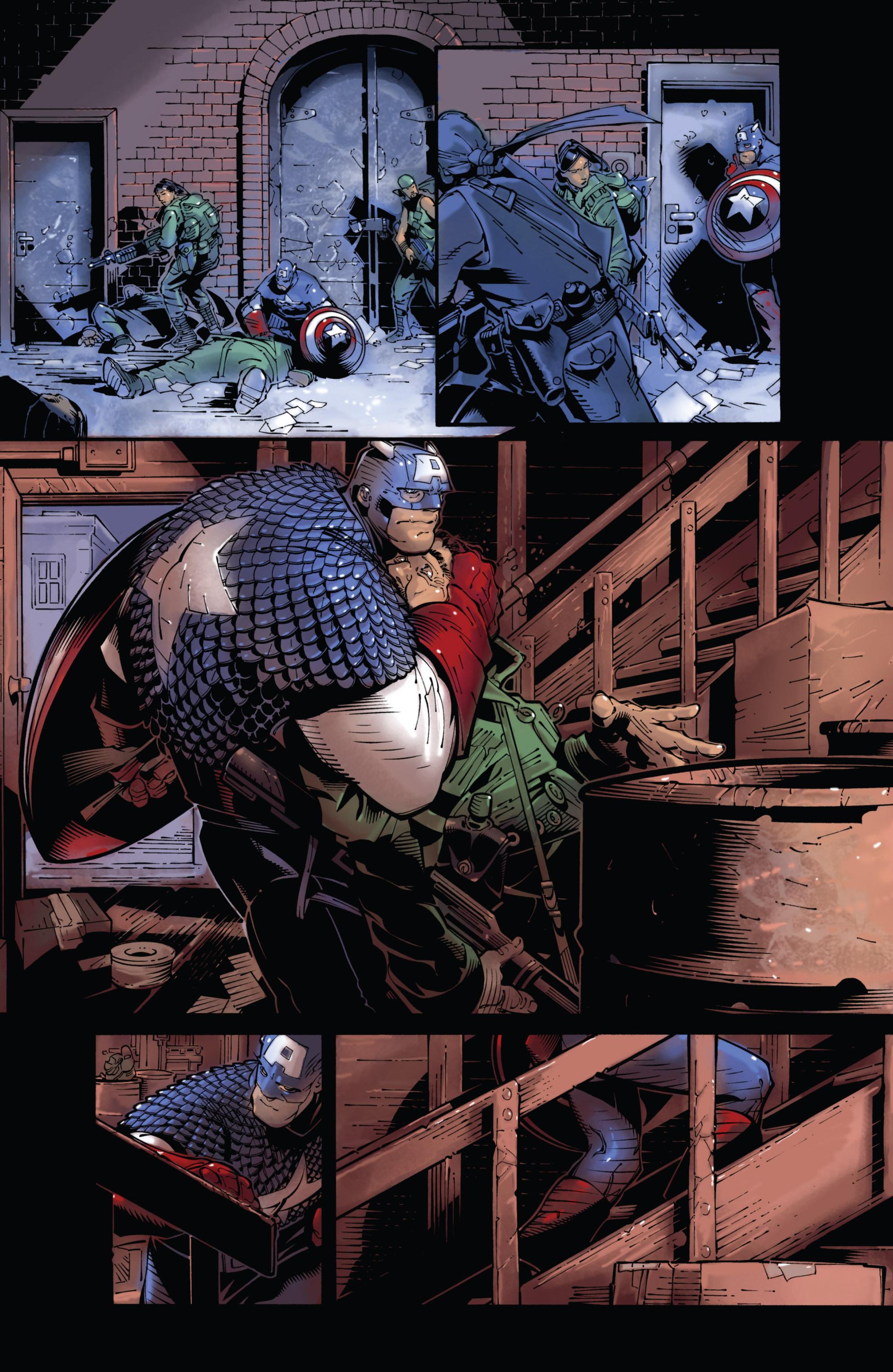 Captain America (2002) Issue #24 #25 - English 16