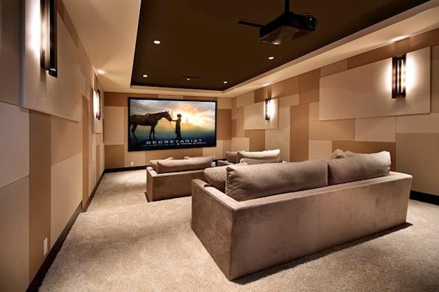 Desain Home Theater