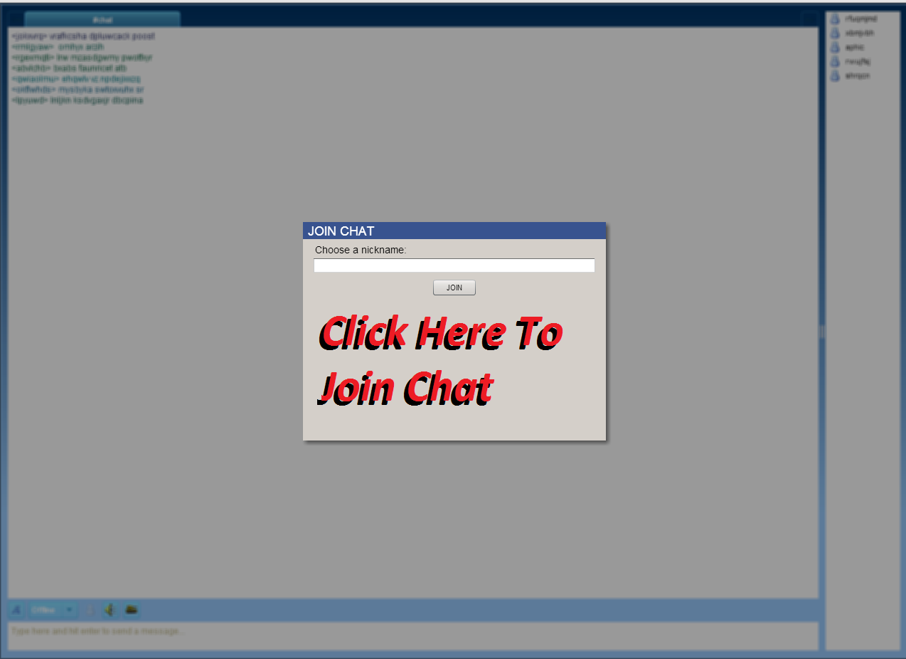 Clean chat rooms