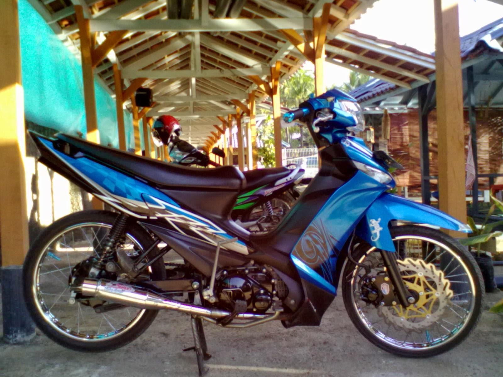 Modifikasi Motor Vega ZR 2011 Terbaru 2016 Sukaon