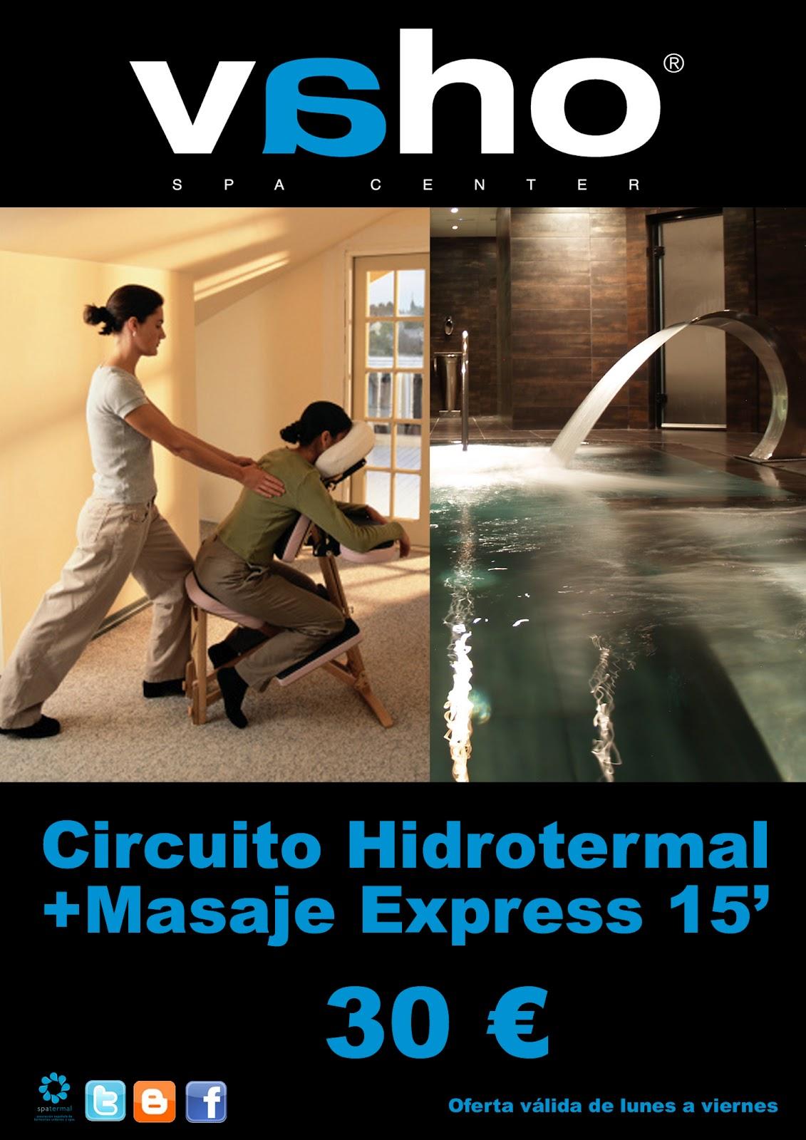 Circuito Hidrotermal : Circuito hidrotermal masaje express vaho spa center