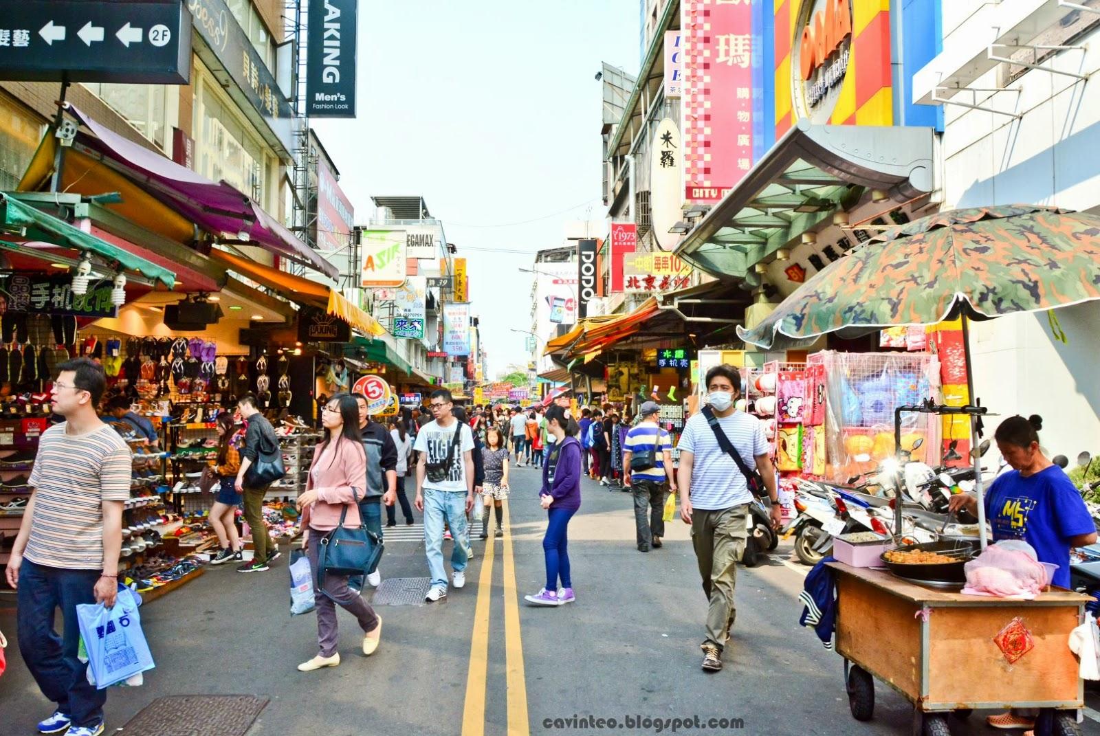 Entree Kibbles: Taichung Yizhong Street / Yizhong Market ... Market Street