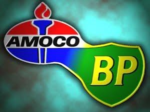 """BP AMOCO: """"Beyond Petroleum"""" (Más alla que Petróleo)."""