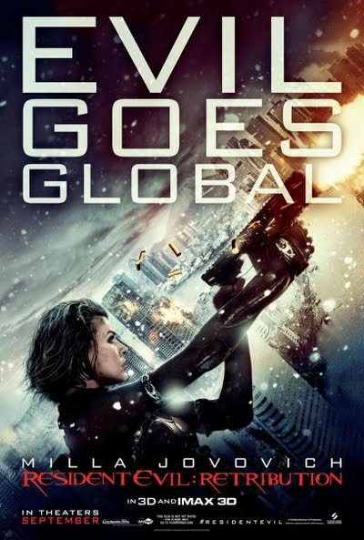 Resident Evil Retribution Movie Poster Mila Jovovich