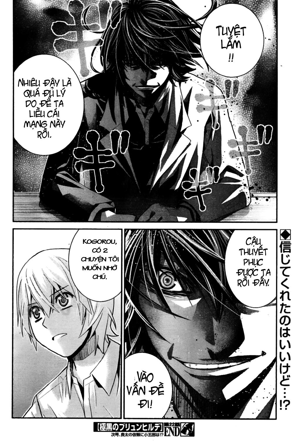 Gokukoku no Brynhildr chap 22 Trang 20 - Mangak.info