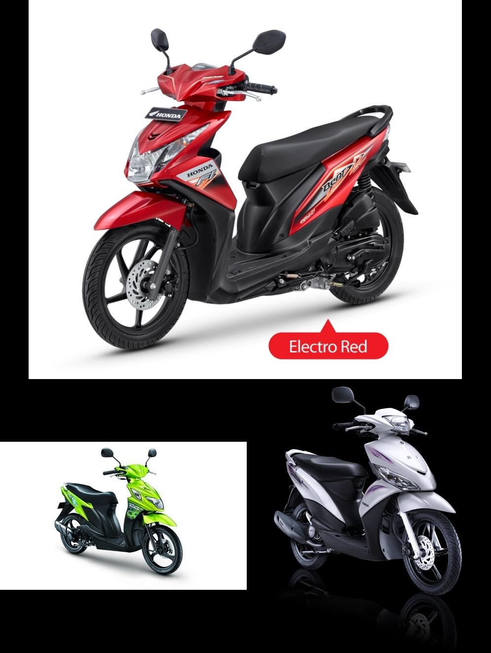 Konsumsi BBM New BeAT vs Mio J vs Nex, Masih Irit New BeAT Tapi.