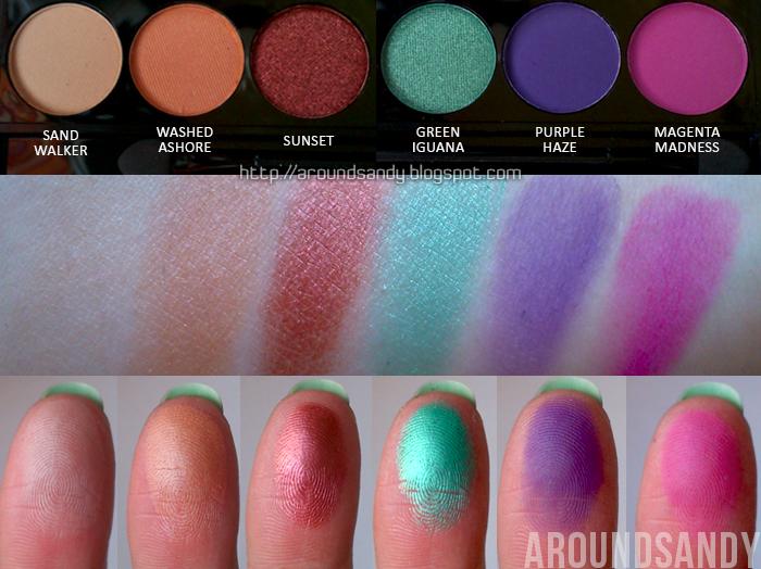 Sleek - Snapshots Palette swatches fila inferior