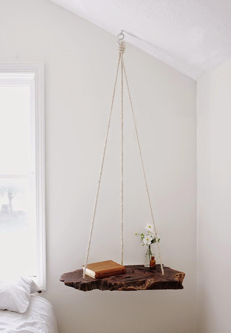 Diy mesa colgante de madera | DEF Deco - Decorar en familia5