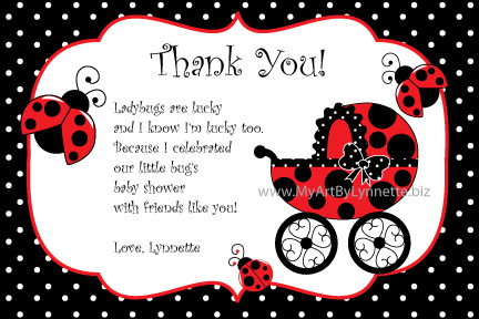 Ladybug Thank You Wording Pictures to Pin PinsDaddy – Thank You Party Invitation Wording