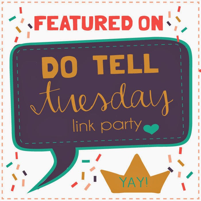 Do Tell Tuesday #18 on Diane's Vintage Zest!