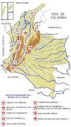Mapa de ríos en Colombia (maparios)