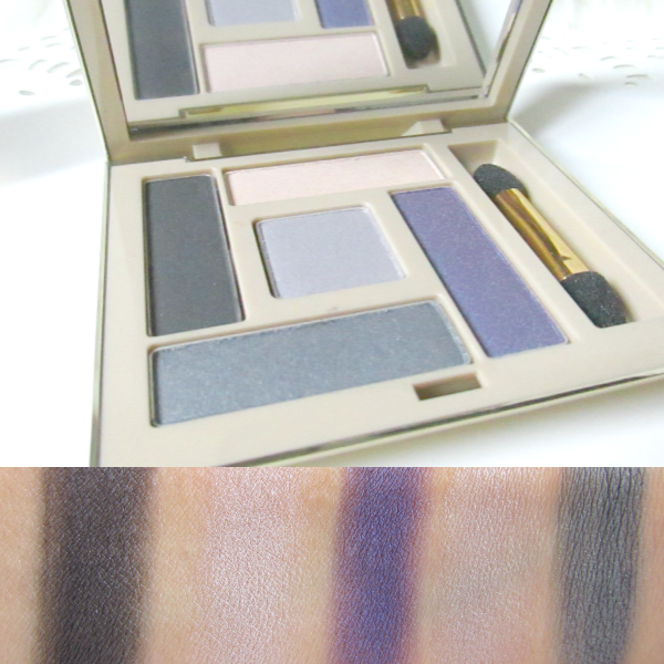 AVON LUXE Eyeshadow Palette - purple smokes  Swatches