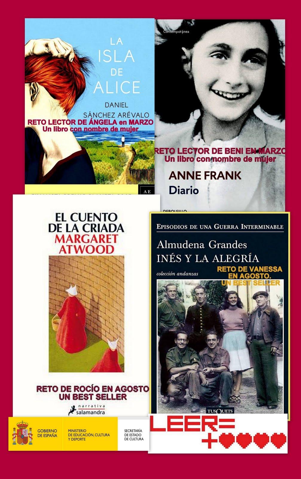 RETO LECTOR 2017, 12 meses/ 12 libros