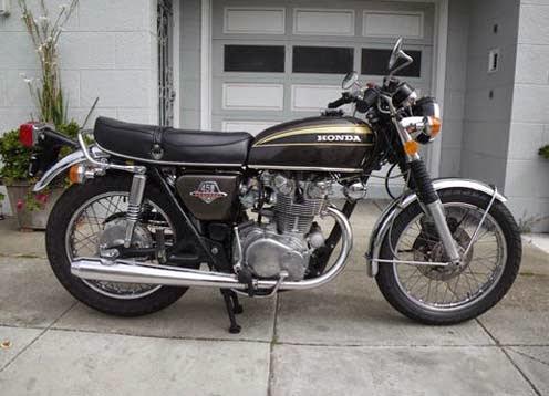 Modifikasi Motor Honda CB450 Cafe Racer