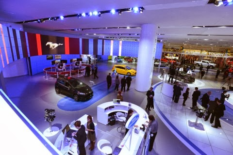 2014 NAIAS Ford Display Has Largest Customer Involvement Ever