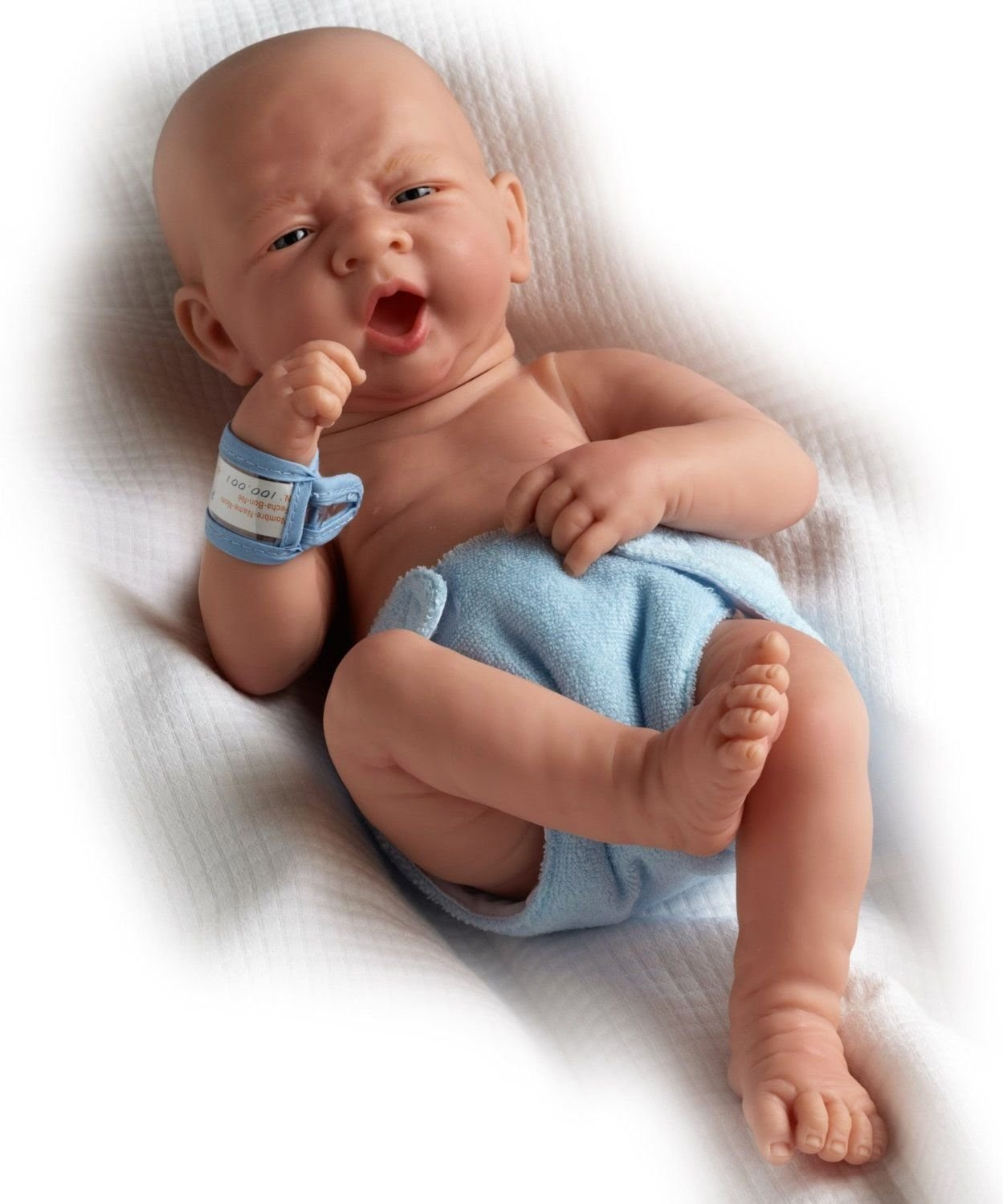 La Newborn Baby Doll by JC Toys - A Reborn - Real Life Like Baby Doll