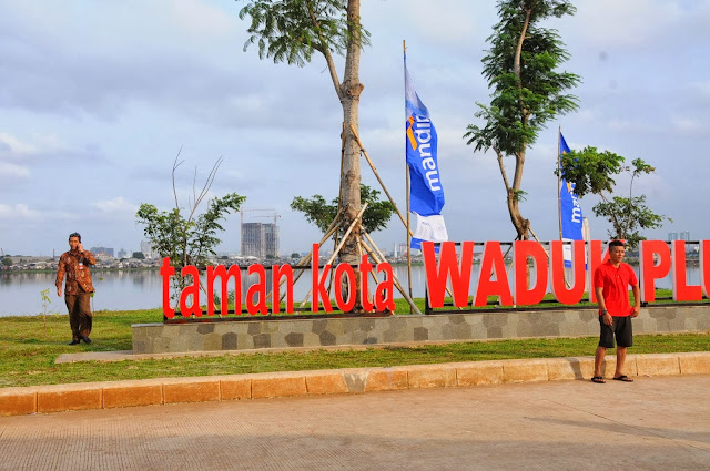 Kawasan Waduk Pluit kini jadi site wisata murah
