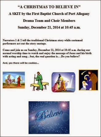 "12-21"" A Christmas To Believe In"""