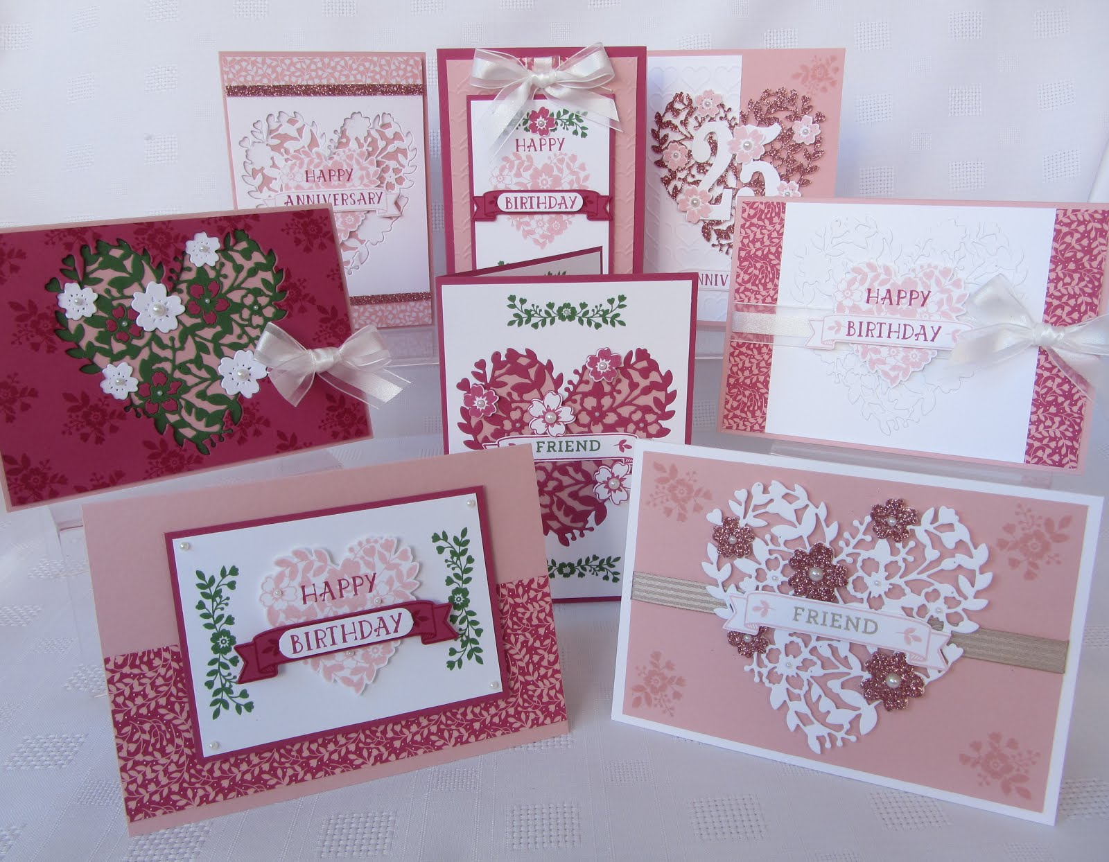 Bloomin Love & Bloomin Heart Bundle Stamp Class Instructions