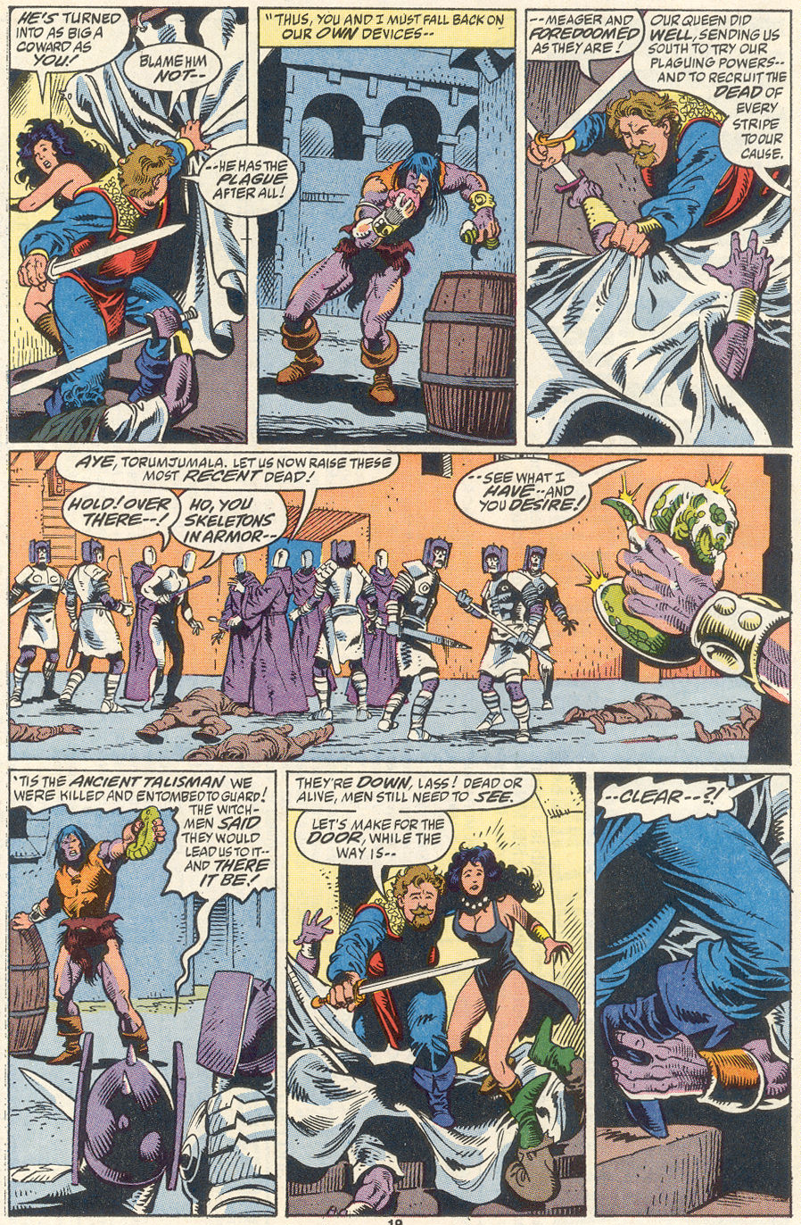 Conan the Barbarian (1970) Issue #256 #268 - English 16