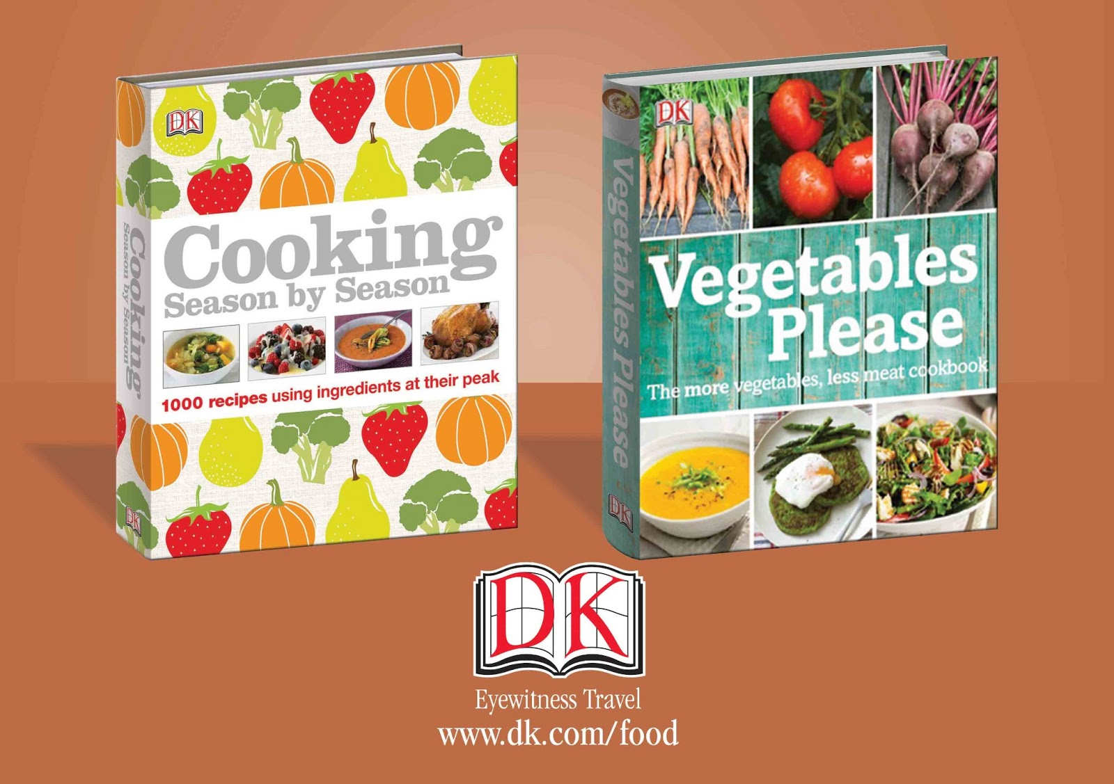 Cookbooks from DK Canada