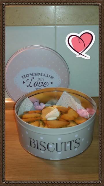 Butter cookies - Galletas de mantequilla