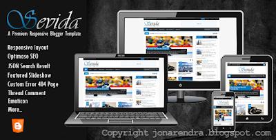 Download Template Sevida Premium Responsive jonarendra