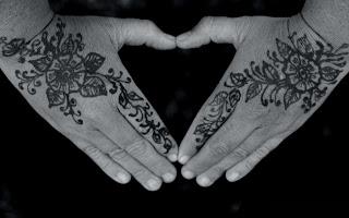 floral henna tattoo (15)