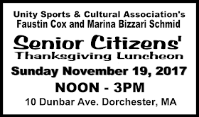 2017 Senior Citizens Thanksgiving Luncheon