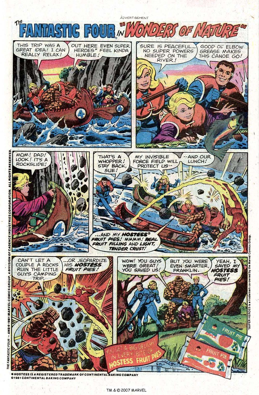 Captain America (1968) Issue #260 #175 - English 31