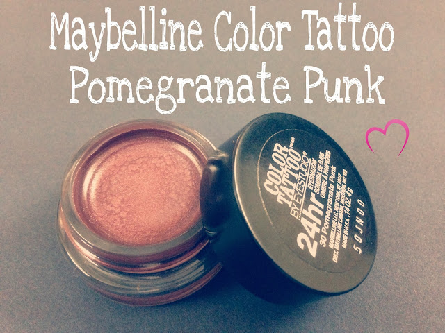 Maybelline Color Tatto in Pomegranate Punk