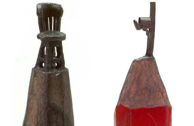 Dalton Ghetti pencil lead sculptures