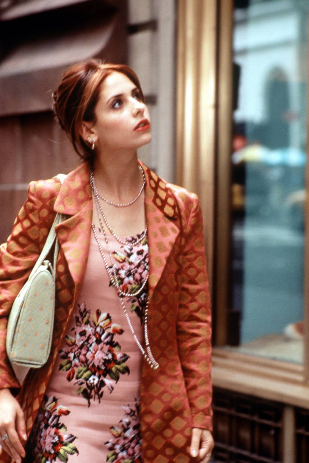 Sonya64blog: Autumn Outfit: Sarah Michelle Gellar in ...