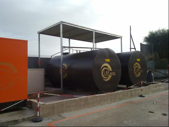 impianto di cogenerazione a biomasse vegetali da 200 Kw