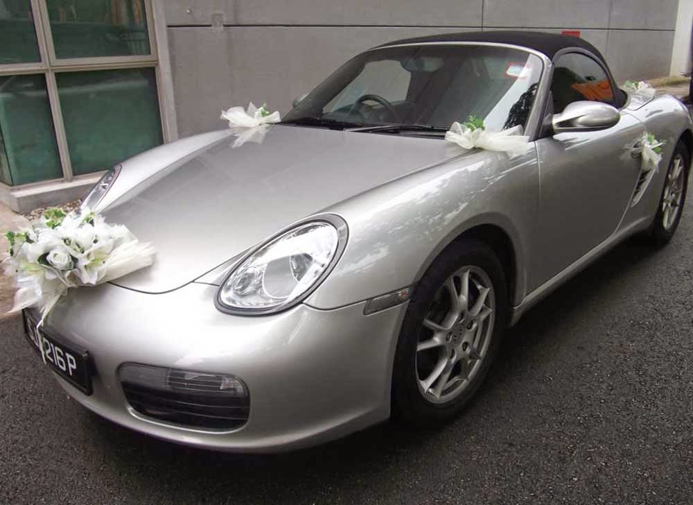 Convertible Wedding Cars Decor Design Ideas Pictures hd