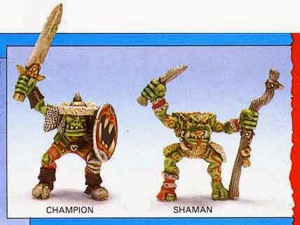 Campeón y chaman de MB8 - Orc War Wyvern