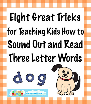 in november i posted a blog entry on teaching children to sound out cvc consonant vowel consonant words and like most kindergarten classes