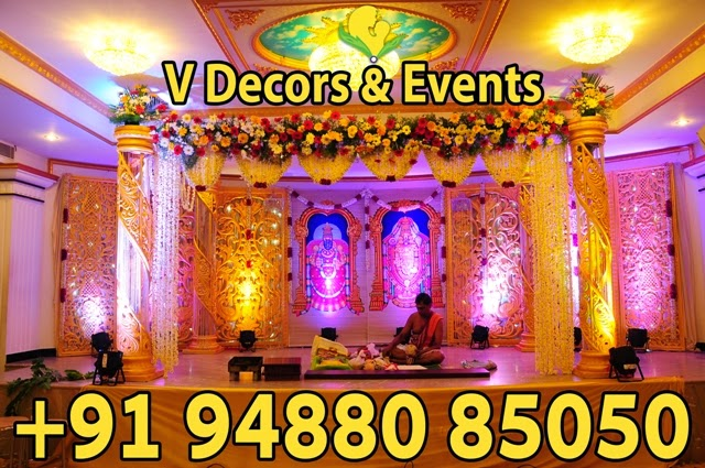V Decors and Events Wedding Hall Decorations Marriage