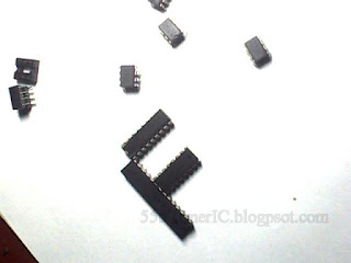 alphabet using IC