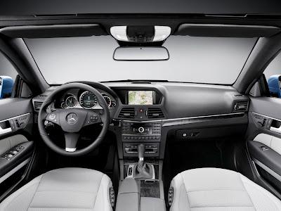 2011 Mercedes-Benz E350 Cabriolet interior