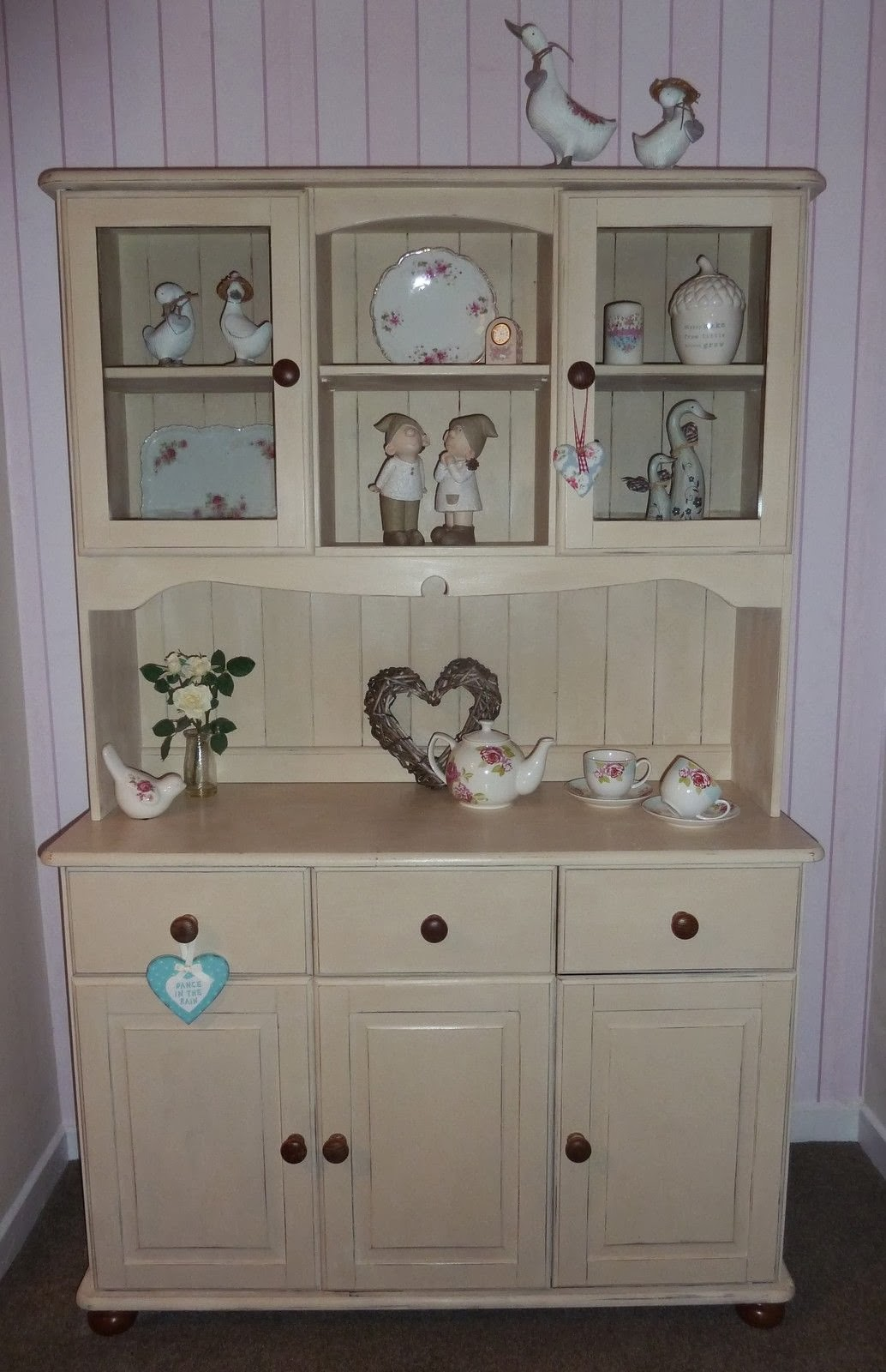 Shabby Chic Country Sisters SOLD Shabby Chic Pine Dresser