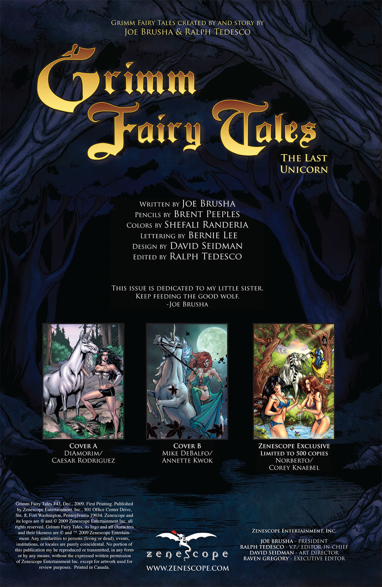Grimm Fairy Tales (2005) Issue #43 #46 - English 2