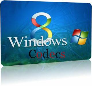 تحميل كودك ويندوز 8 لتشغيل جميع الصيغ الفيديو والصوت  Download Windows 8 Codecs 2013