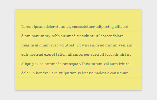 CSS3 Paper