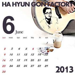 Ha Hyun Gon Factory (하현곤 팩토리) - 하팩 캘린더 2013년 6월